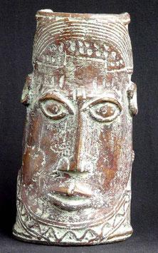 Bracelet Africain en  bronze  :  Bénin city  - Nigéria