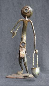 Sculpture Africaine  en métal de récupération  Simonet  :  Bénin