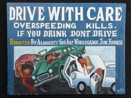 Publicité Drive with care artiste Africain  Norkos   :  Bénin