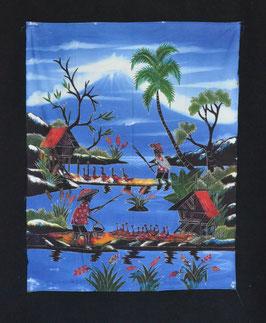 Batik Indien en coton  :  Inde