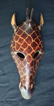 Masque Africain Tète de girafe  : Tanzanie