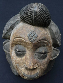 Masque Africain PUNU (Gabon)