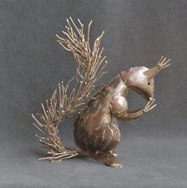Écureuil en métal recyclé  :   Zimbabwe