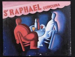 Publicité St Raphael Quinquina artiste Africain  Norkos   :  Bénin