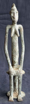 Statue Africaine en bronze  :  Mali