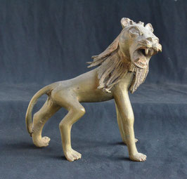 Lion Africain en Laiton  :    Bénin