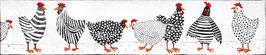 Hühnerversammlung