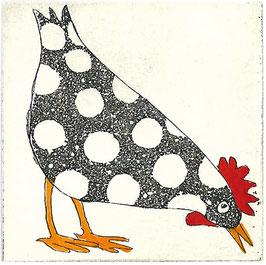 Das zufriedene Huhn 2