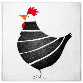 Das stolze Huhn