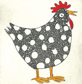 Das gepunktete Huhn