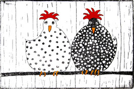 Hühnerpärchen