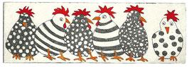 Die unterhaltsame Hühnerscharr