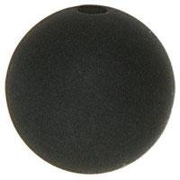 PE-1003 / Polarisperle 10mm schwarz, 5 Stück