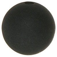 PE-1403 / Polarisperle 14mm schwarz, 5 Stück