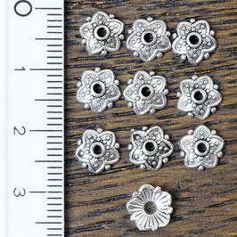 PK-04 Perlkappe Sternchen, 10 Stück