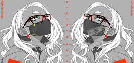 【完売】デコメガネチャンマスク