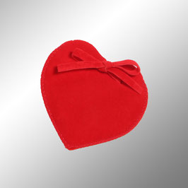 Samtsäckchen Herz