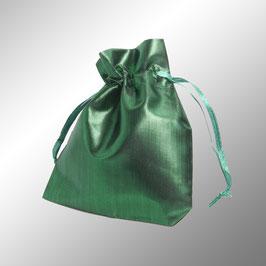 Säckchen grün glänzend