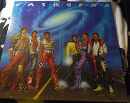 JACKSONS  VICTORY LP Vinyl Record