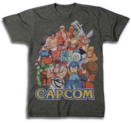 CAPCOM キャラクター Tシャツ