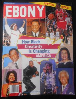 雑誌「EBONY」1991年 8月号