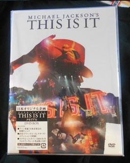 MJ「This Is It」日本企画10000個限定 DVD BOX