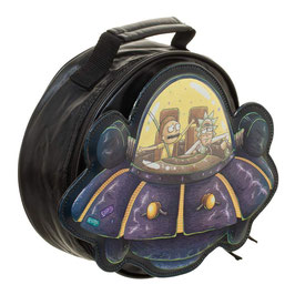 Rick and Morty  SPACESHIP LUNCH BOX