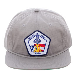 NASA Patch Grey Snapback