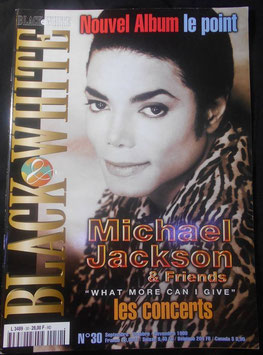 1999年MJファン雑誌(フランス)「BLACK & WHITE」NO.30