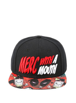 MARVEL DEADPOOL MERC WITH A MOUTH SUBLIMATION SNAPBACK