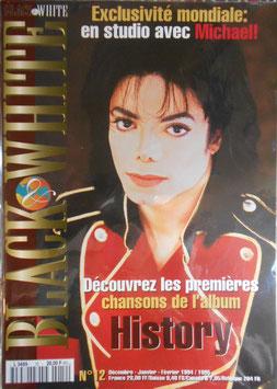 1995年MJファン雑誌(フランス)「BLACK & WHITE」NO.12