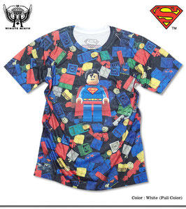 「SUPERMAN(スーパーマン)」x「MINUTE MIRTH」Tシャツ