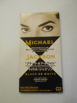 Michael Jackson ‎– Black Or White 8cm single CD(日本版)