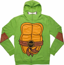 Teenage Mutant Ninja Turtles Full Zip Hoodie with Mask