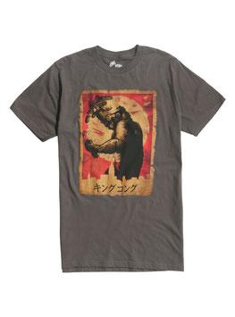 『キングコング』(King Kong)  Japanese Poster Tシャツ
