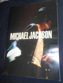 MICHAEL JACKSON BAD TOUR 非売品 カタログ(1988年)