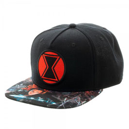 Captain America Civil War Black Widow Snapback