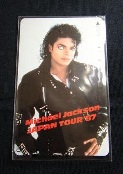 Michael Jackson テレカ JPN TOUR 1987年
