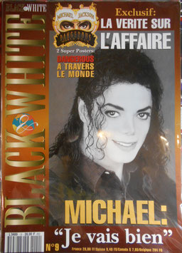1994年MJファン雑誌(フランス)「BLACK & WHITE」NO.9