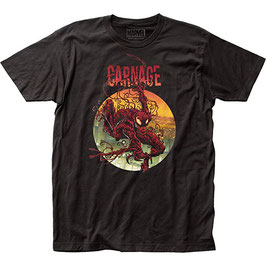 Marvel  Comics Carnage Climbing Out  Tシャツ