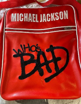"""MJ """"Who's Bad"""" Shoulder Bag(BRAVADO)"""
