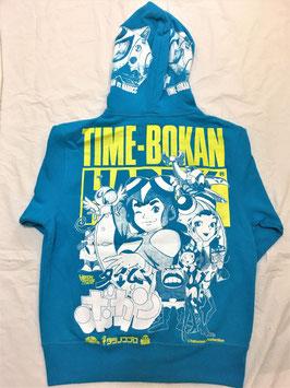 タイムボカン(TIME BOKAN)  タイムガイコッツ  パーカ