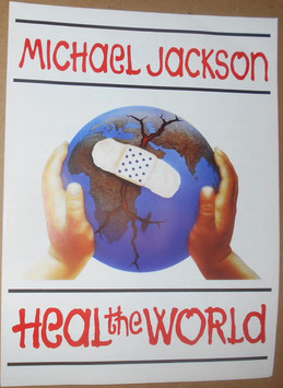 Michael Jackson「Heal  The World」IMP社製  楽譜(1991年)