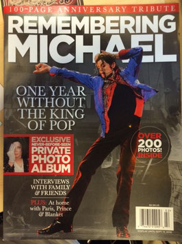 MJ Remembering MICHAEL Magazine