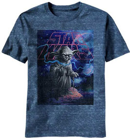STAR WARS YODA GALAXY MENS TEE