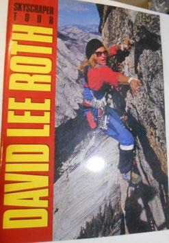 DAVID LEE ROTH SKYSCRAPER TOUR日本公演 1988  パンフレット