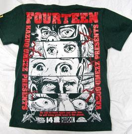 楳図かずお  14歳(フォーティーン)  Tシャツ