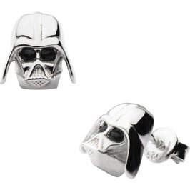 Star Wars Darth Vader 3D Metal Post Stud Earrings