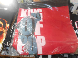 Michael Jackson King of Pop Vinyl Tote Bag