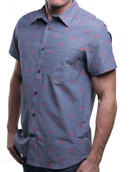 Superman Logo Woven Shirt